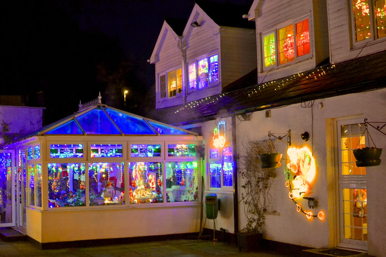 Christmas House Conservatory