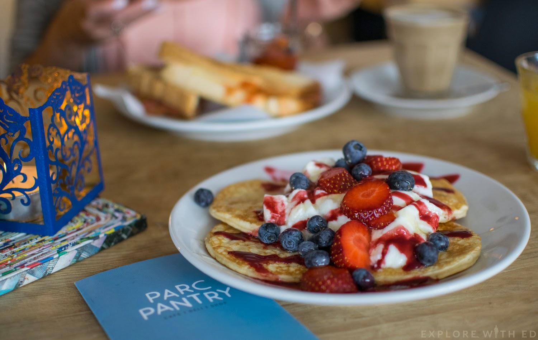 Parc Pantry Breakfast Menu