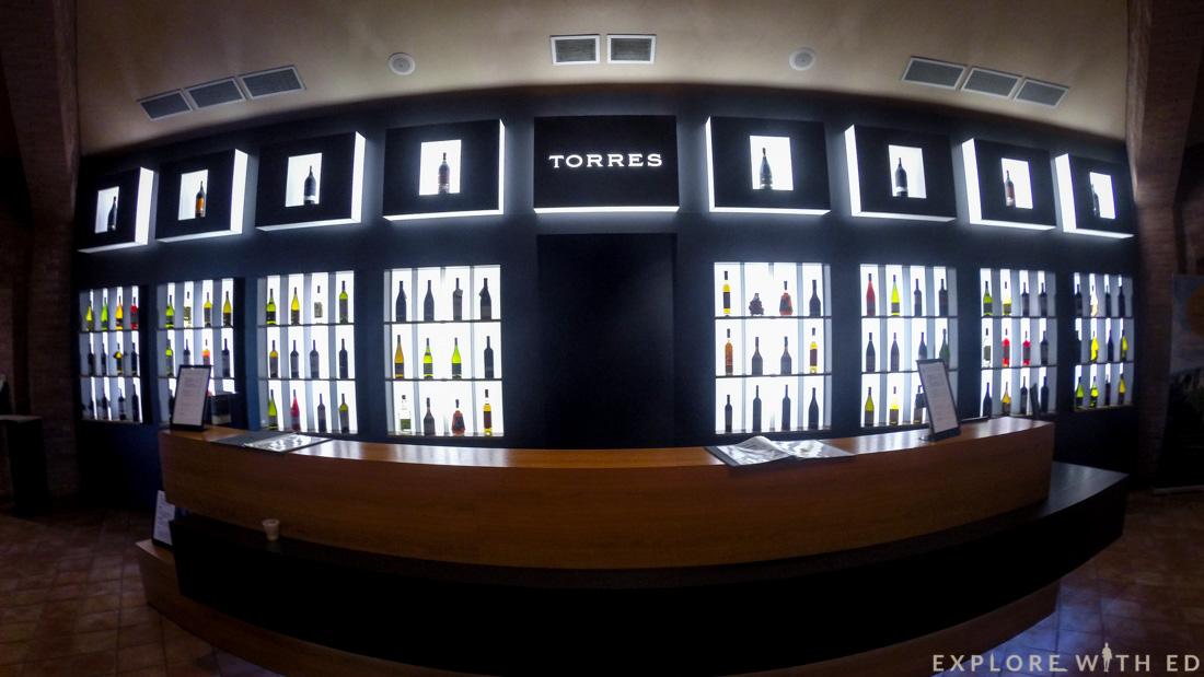 Wine shop, Torres Winery, Pacs del Penedès