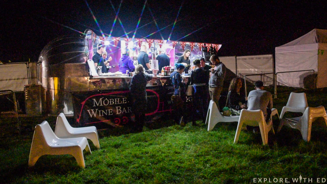 Mobile Wine Bar, Blogstock
