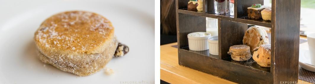 Welshcake, Cream Tea, Razzi Restaurant