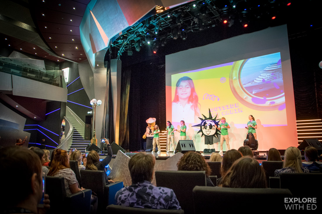 Blog Camp on Board event with MSC Cruises