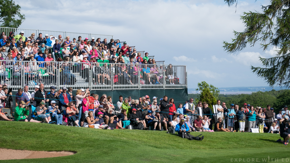 Spectators at The Celebrity Cup at The Celtic Manor
