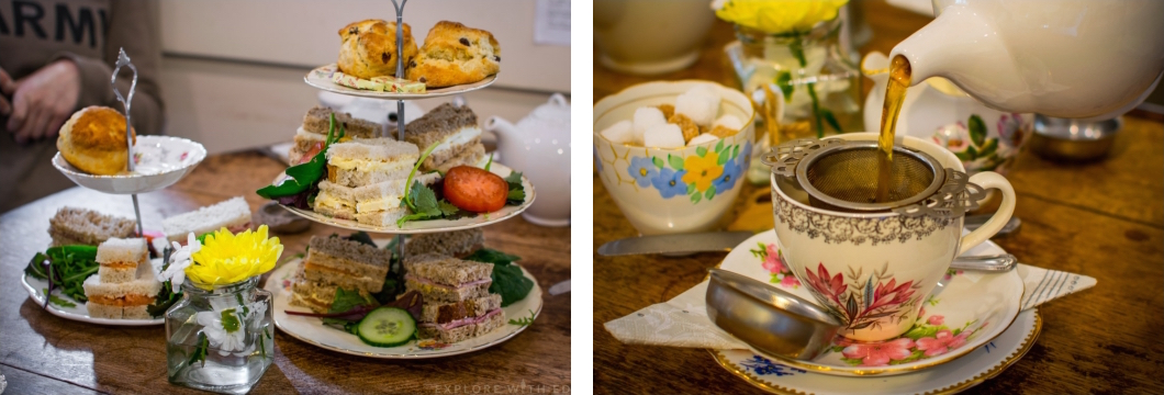 Pettigrew Tea Rooms Afternoon Tea