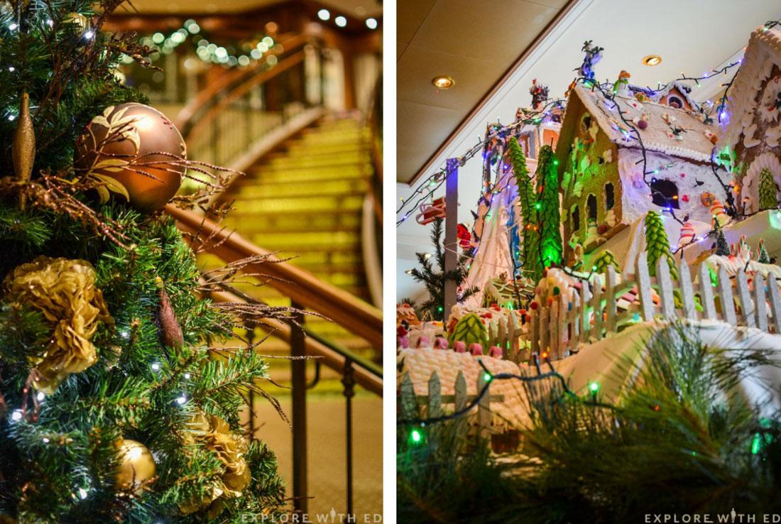 Cunard Queen Elizabeth Christmas