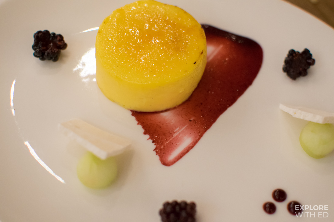 Desserts at The Admiral St David restaurant