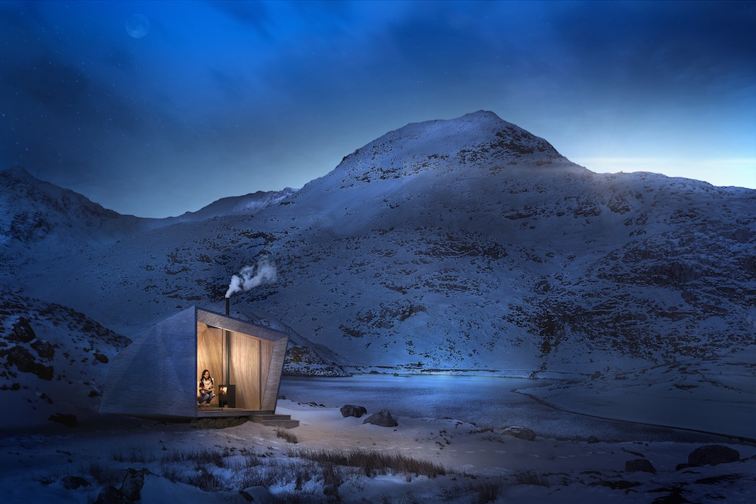 Epic Retreats in Wales - Arthurs Cave design