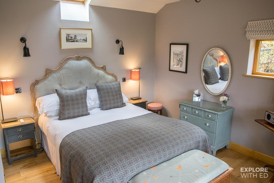 Luxury cottage for two in Llanfoist Wales