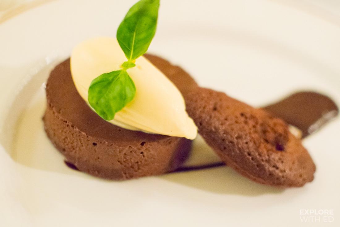 Chocolate Dessert at Bodysgallen Hall