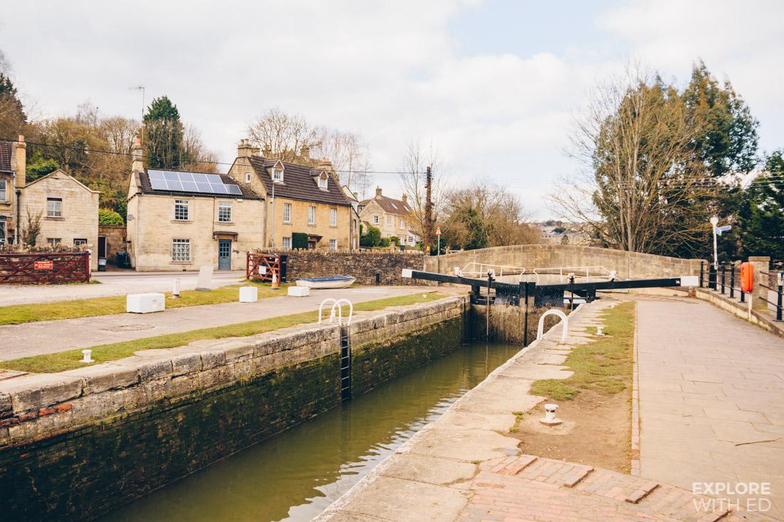 Bradford-on-Avon Canal Lock