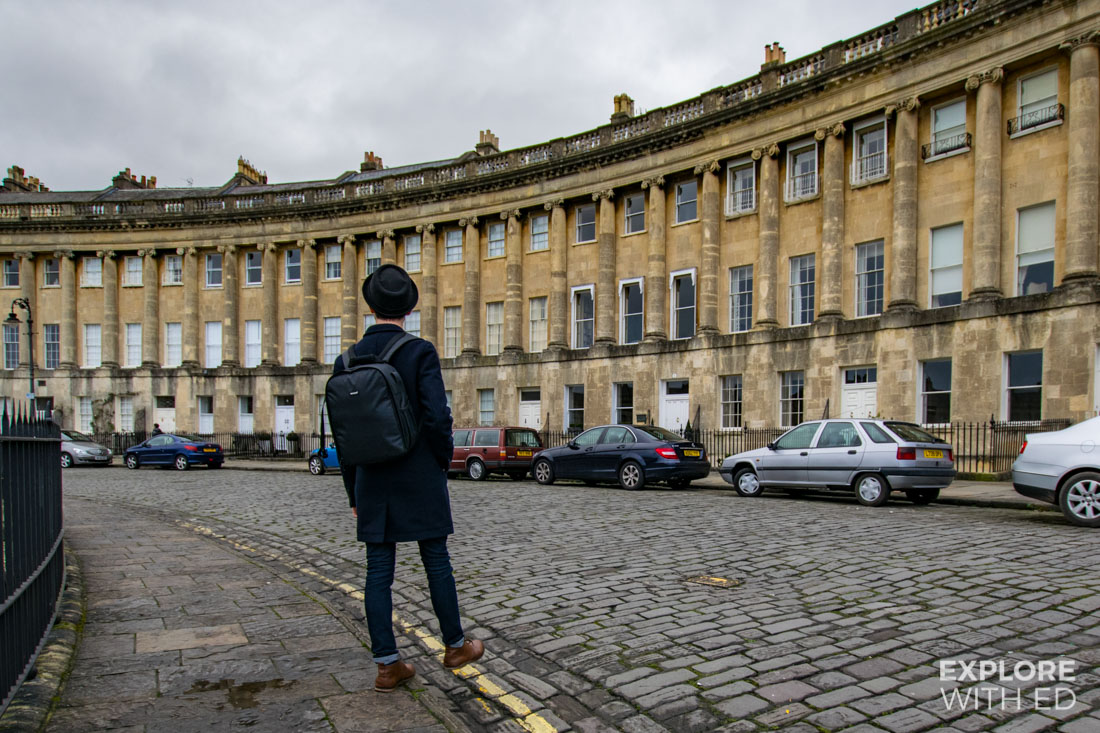 Neewer Camera Bag, Royal Crescent in Bath