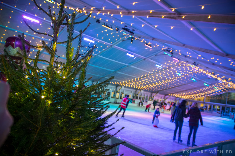 Cardiff Winter Wonderland Undercover Ice Skating Rink