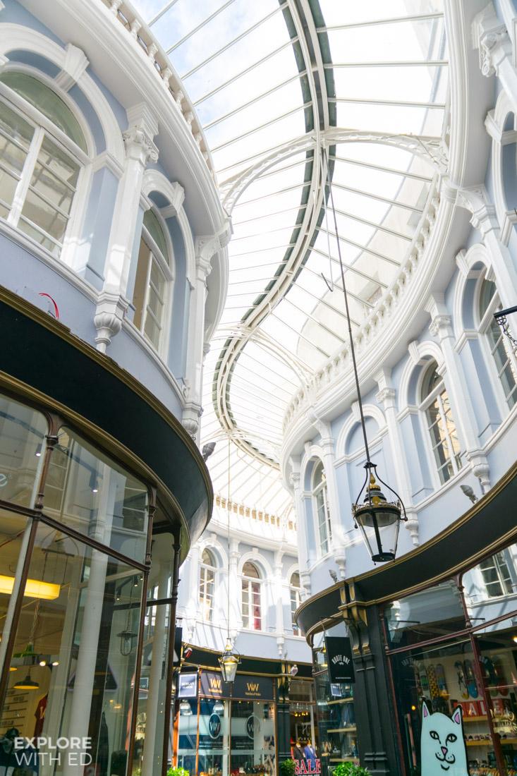 Cardiff Arcade Architecture