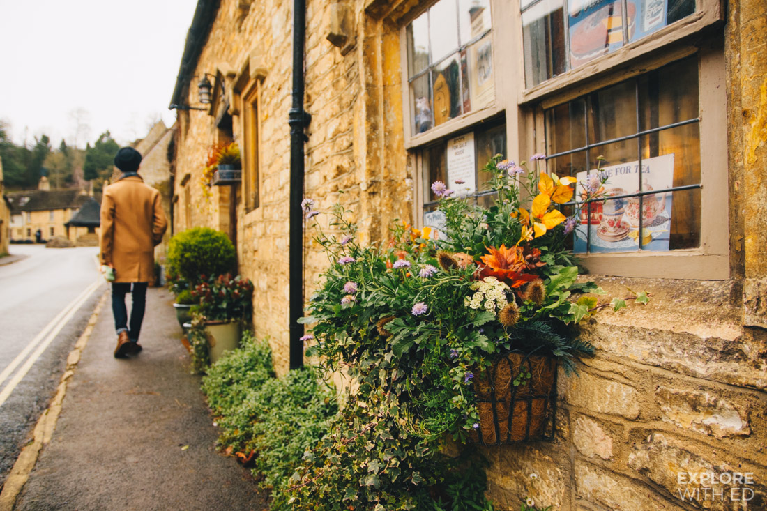Sightseeing in England's Prettiest Village in The Cotswolds