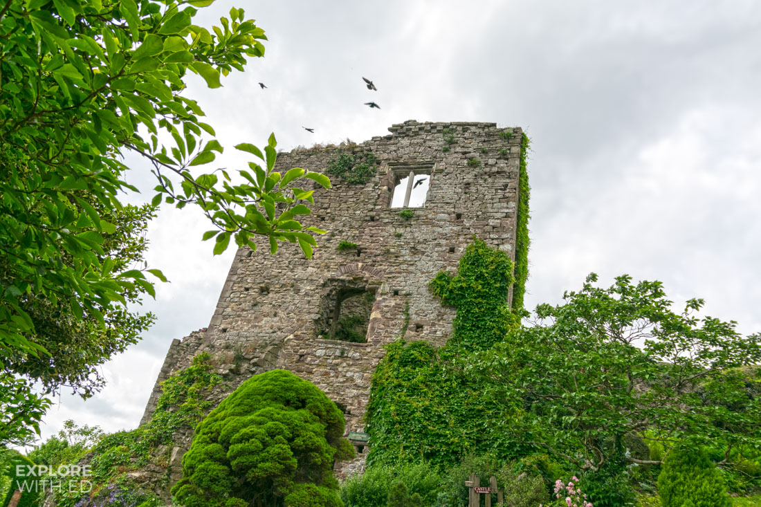 Usk Castle Tower