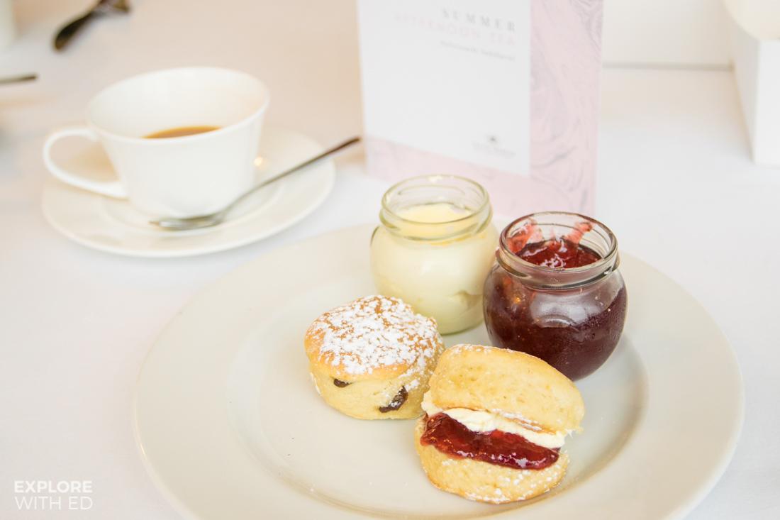 Cream tea at The Celtic Manor