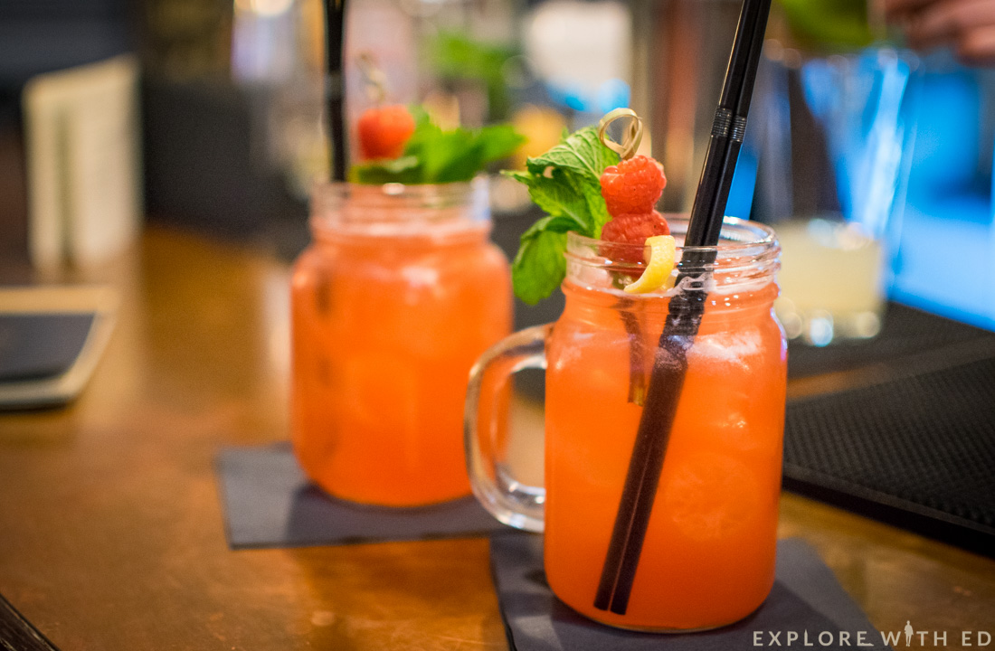 Cocktails Locke & remedy