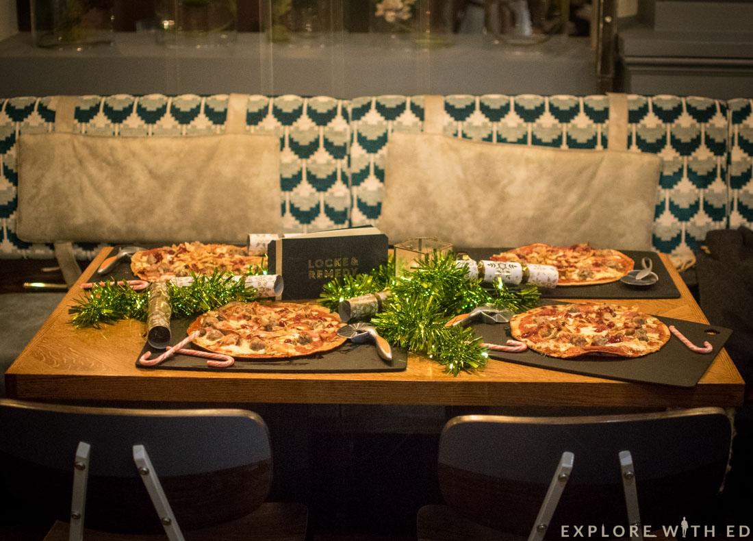 Locke & Remedy Christmas, Festive Pizza
