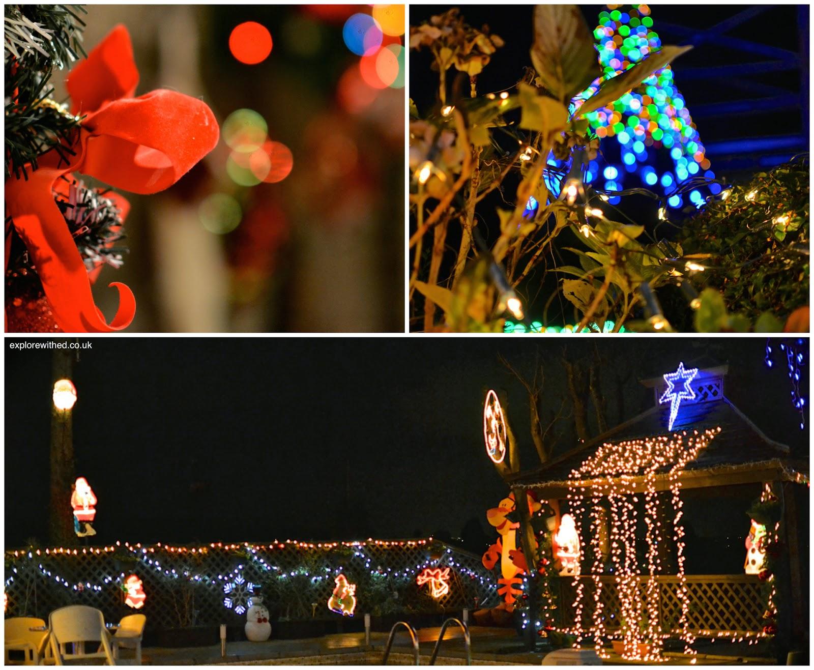 Festive garden ornaments