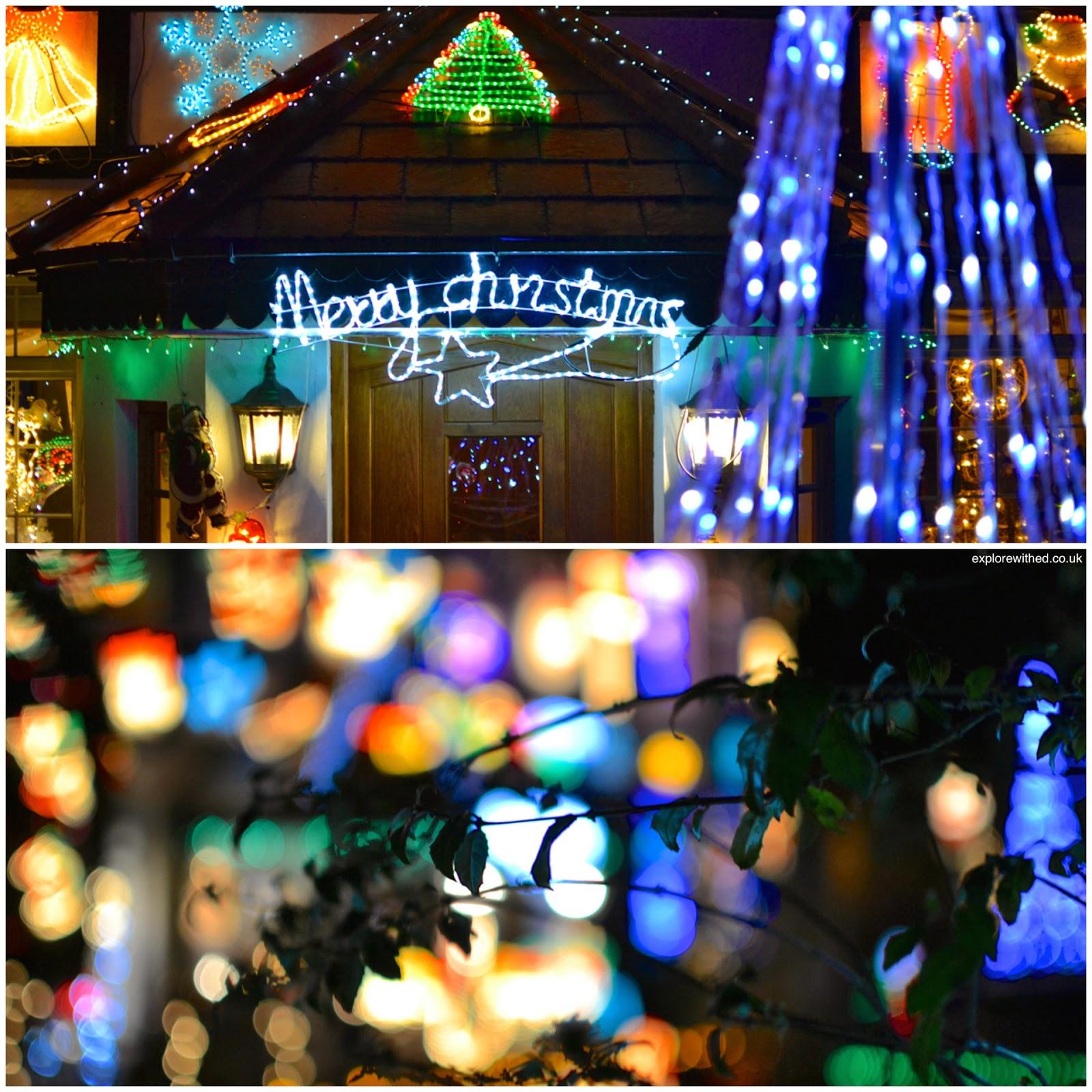 Christmas Lights in Newport