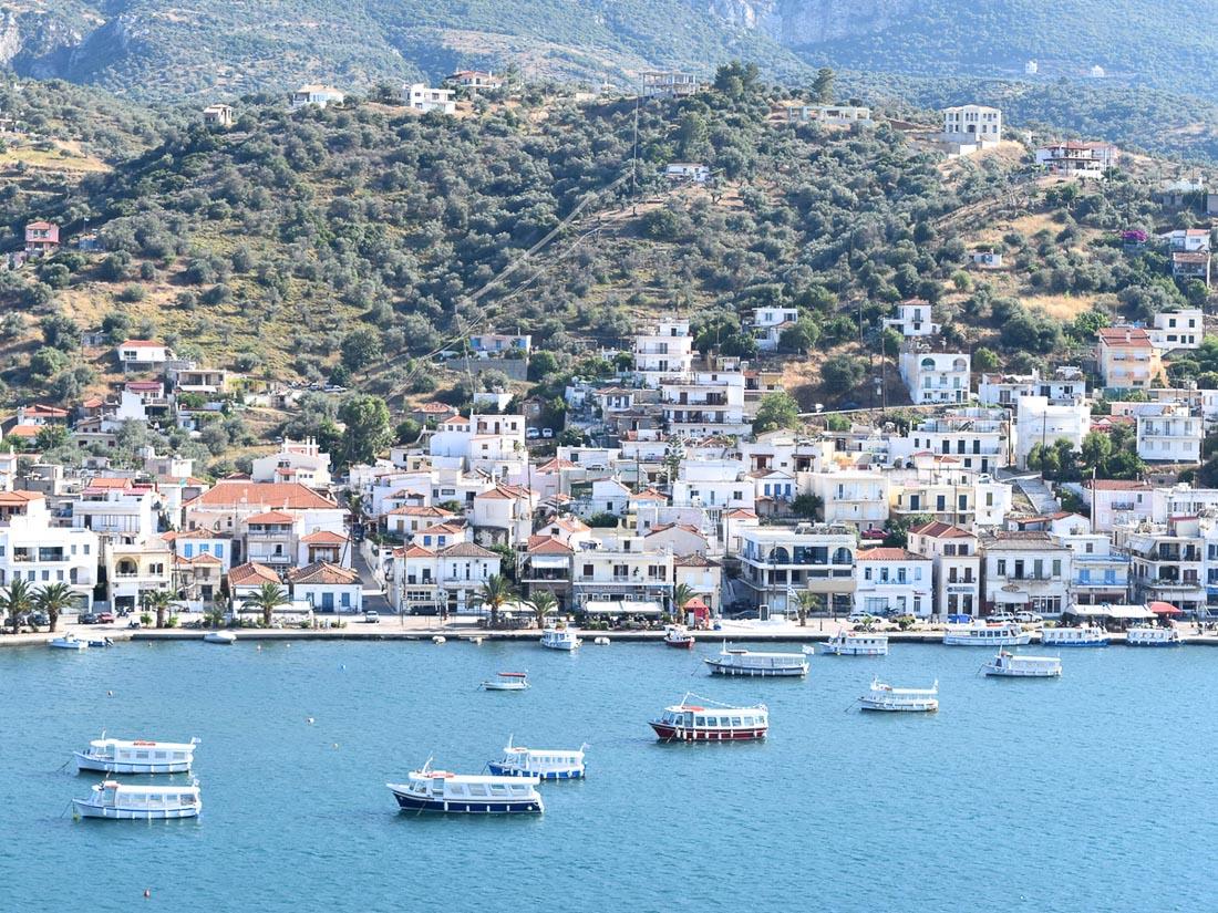 Greek Island of Poros by Phoebe Greenacre