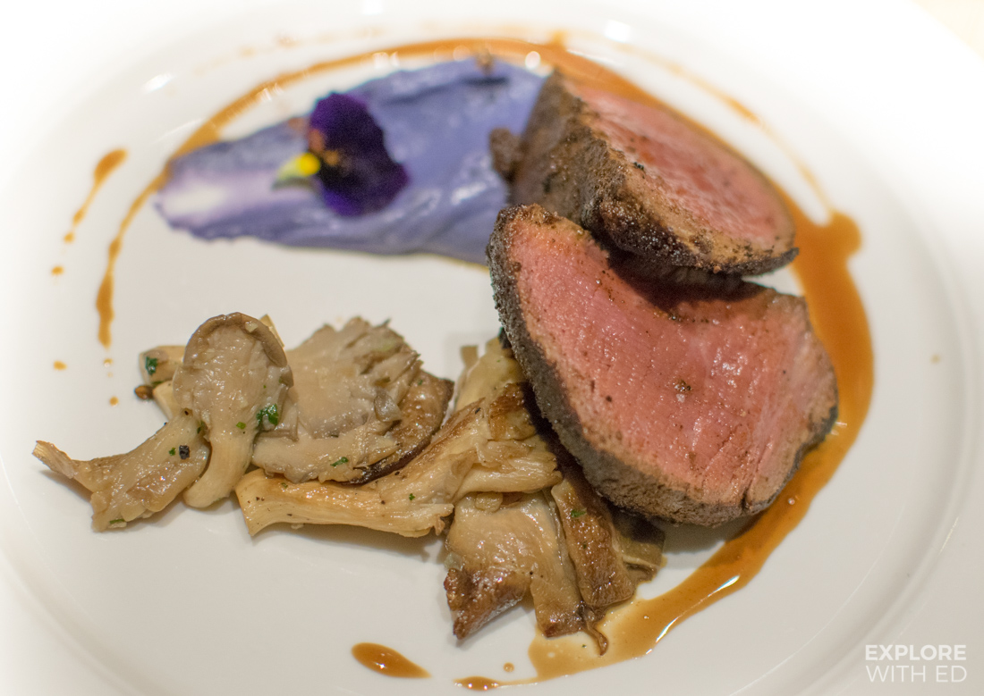 The Chefs Table dining experience on a Viking Cruise