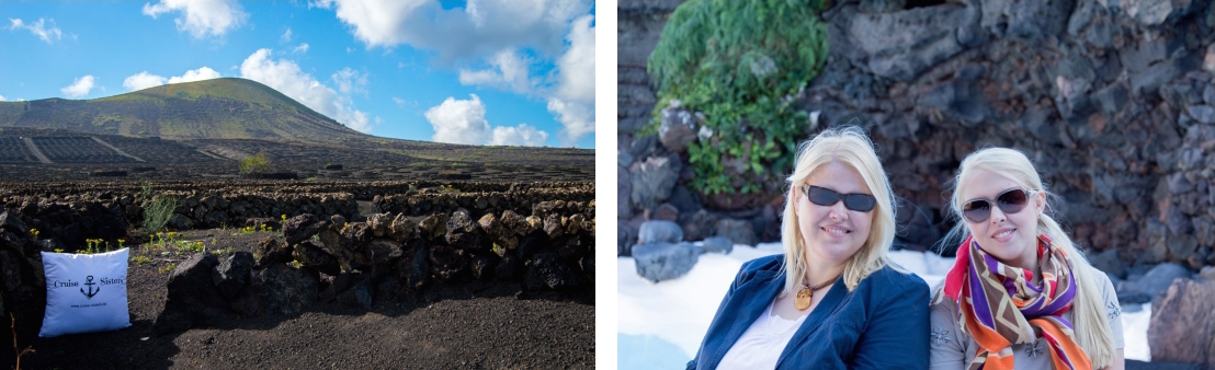 Cruise Sisters and Lanzarote