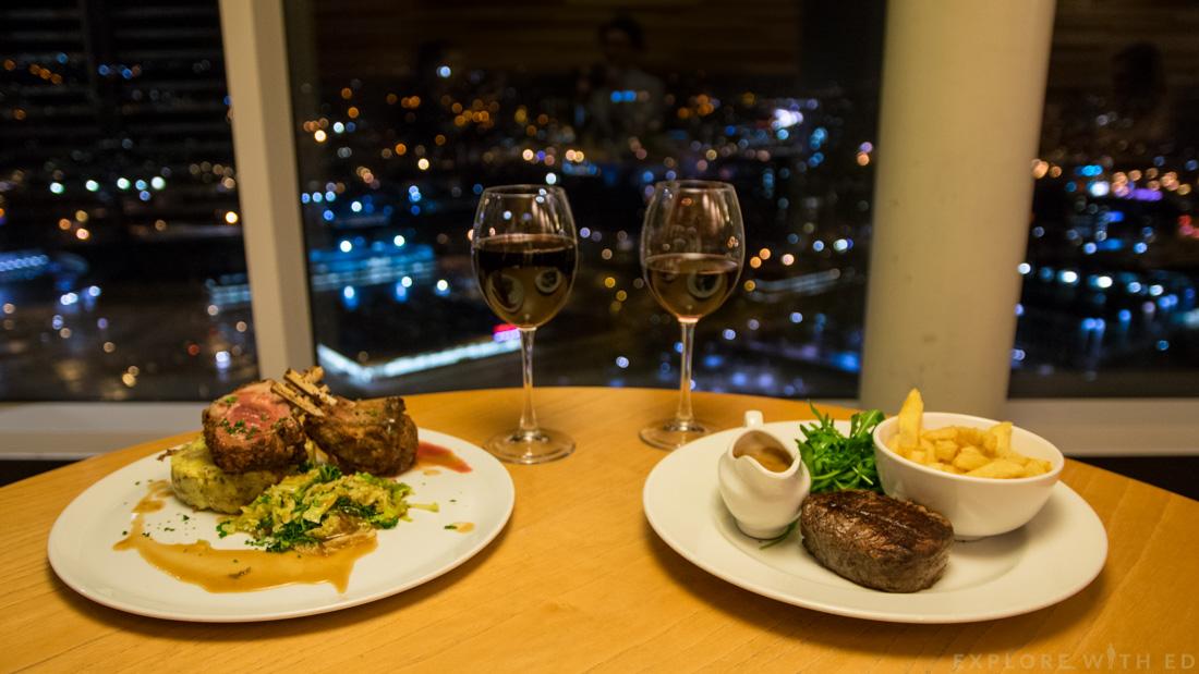 Grape & Olive Review, Lamb, Fillet Steak