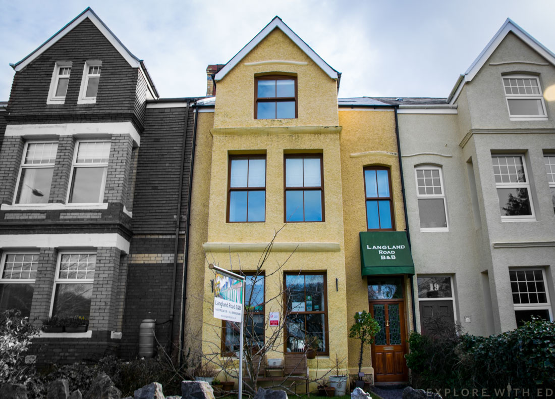 Langland Road Bed & Breakfast review, The Mumbles Swansea