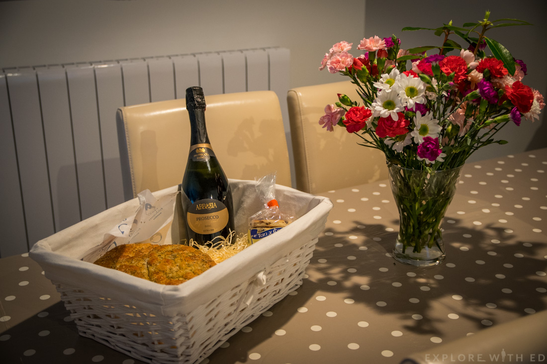 Welcome hamper, Promenade View, Prosecco