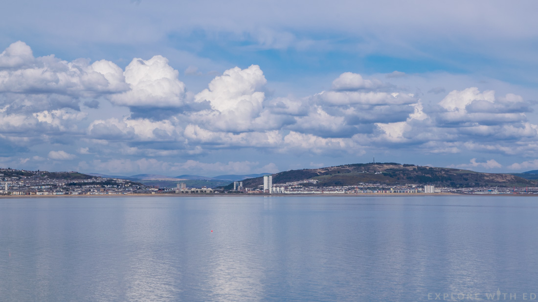 View of Swansea Bay from Mumbles