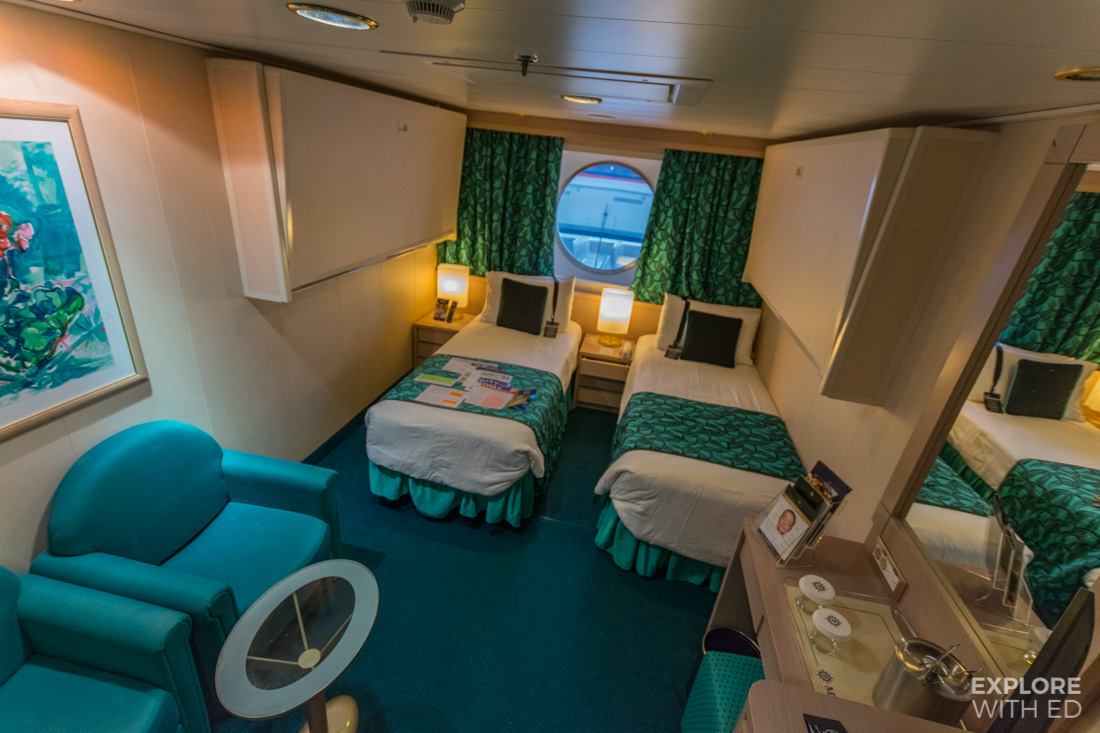 Four berth outside cabin on MSC Musica