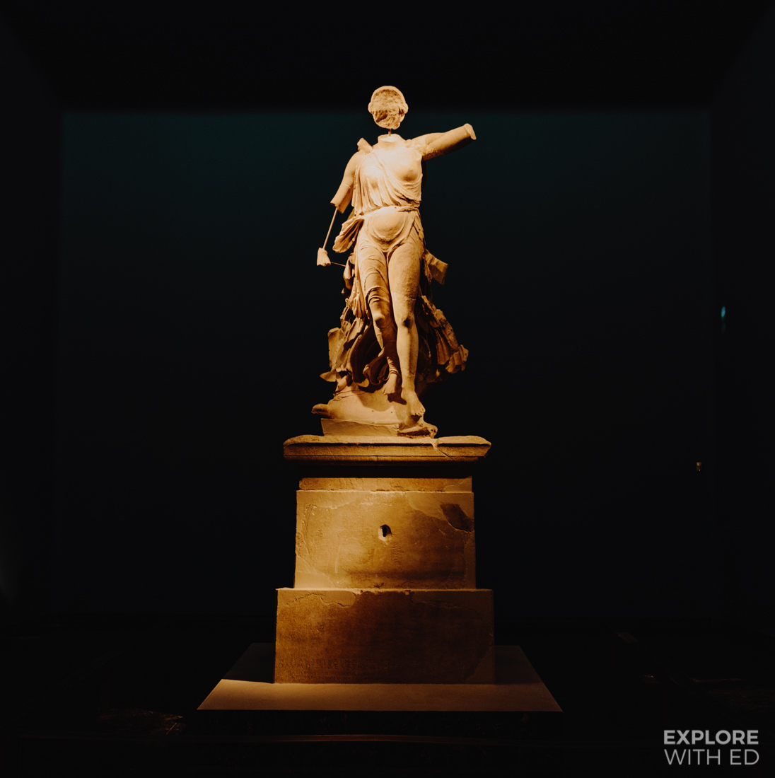 Statue of Nike in Olympia's Museum