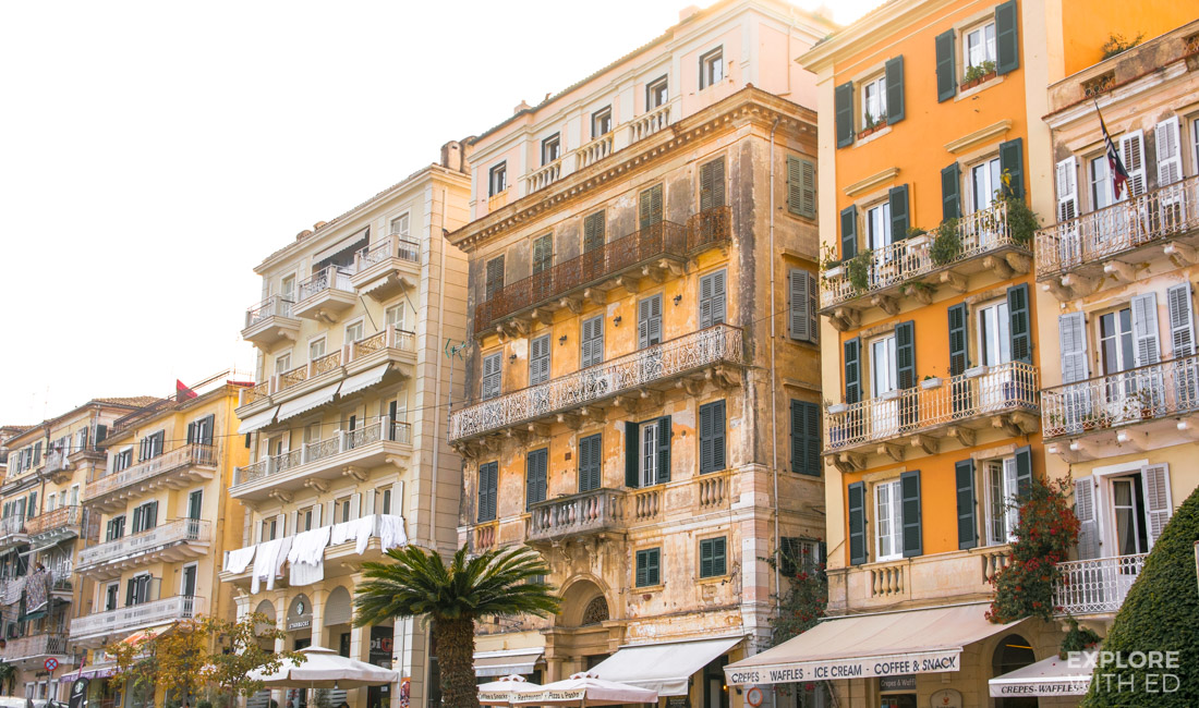Corfu bars and restaurants