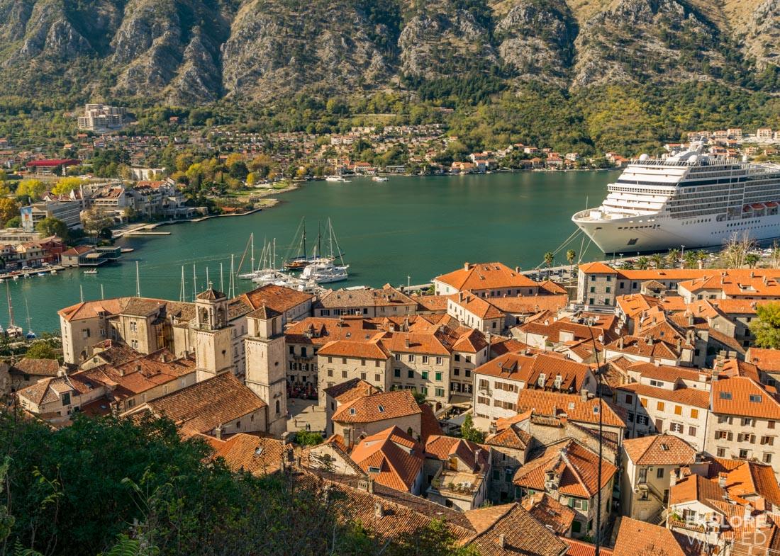 Cruising to Kotor Montenegro