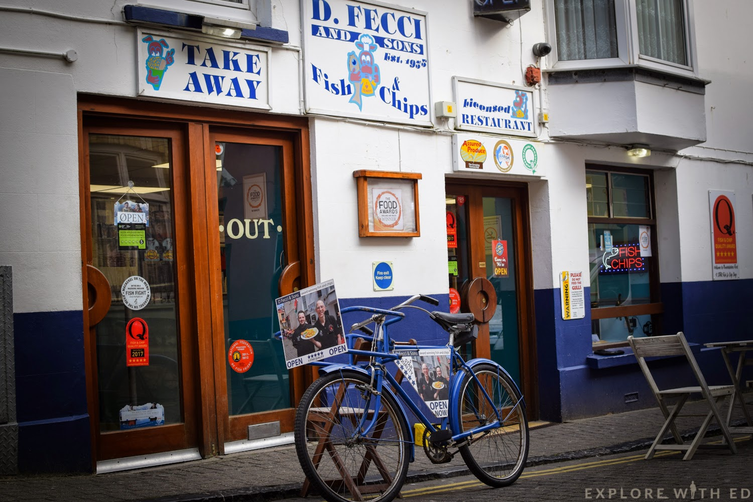 Fish and chip takeaways in Tenby