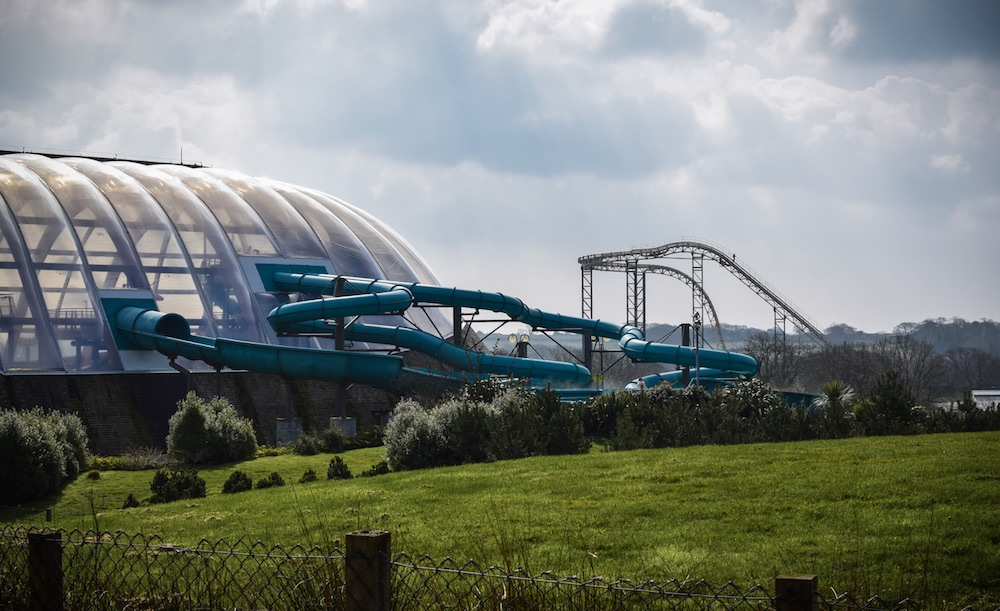 Oakwood Theme Park and Indoor Water park, West Wales