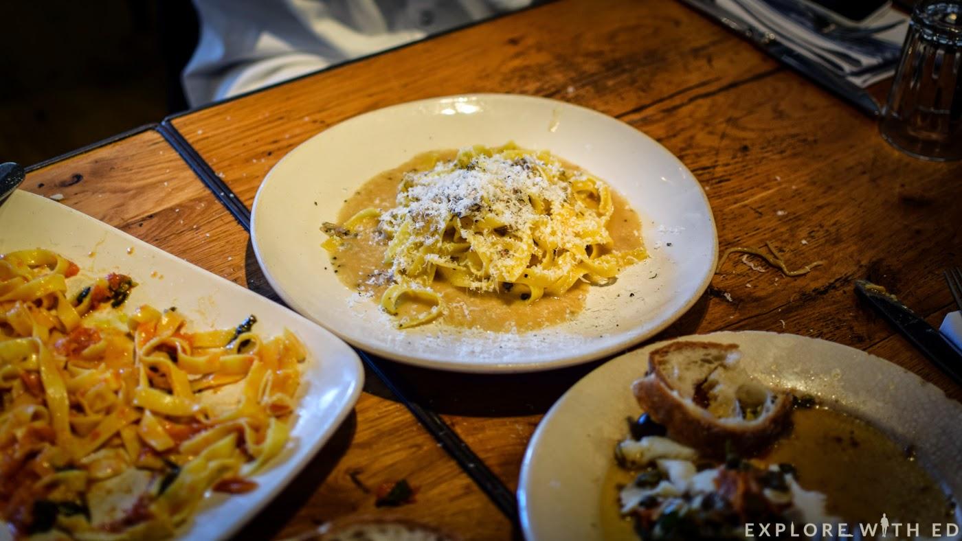 Truffle pasta Jamie's Italian