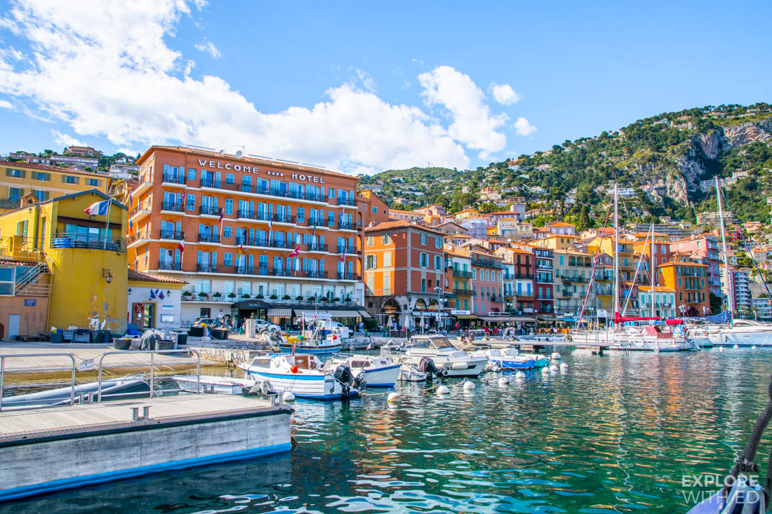 Villefranche in the French Riviera
