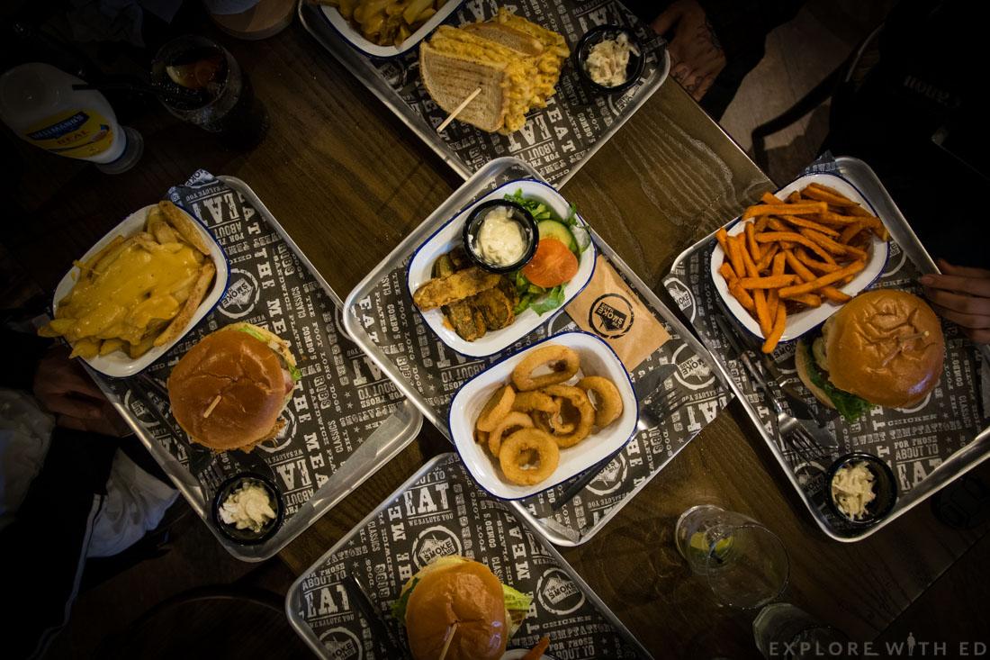 The Smoke Haus Birmingham Food
