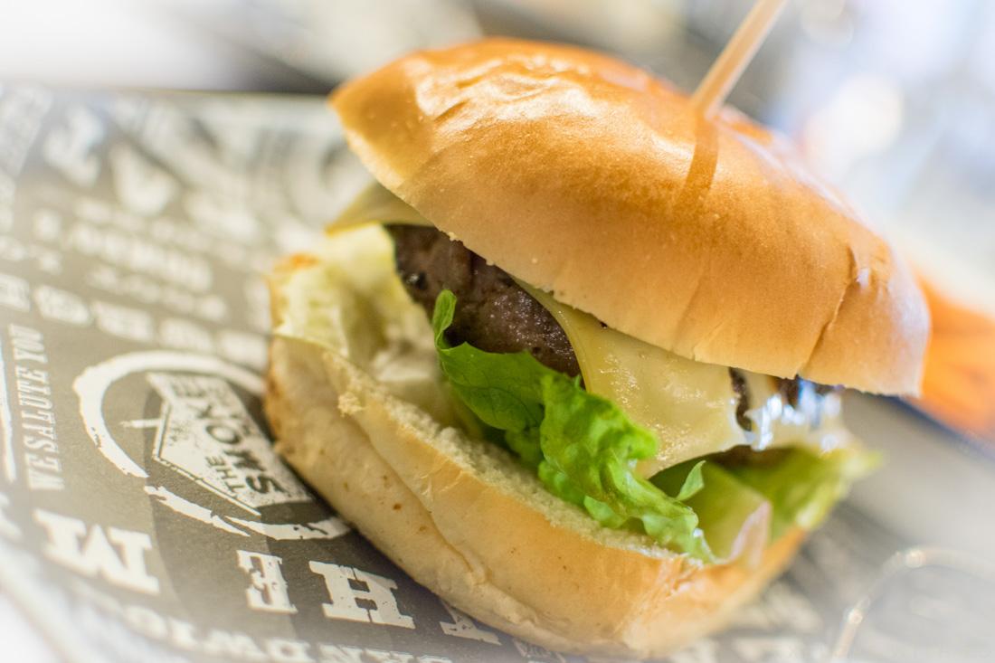 Classic Burger at The Smoke Haus Birmingham