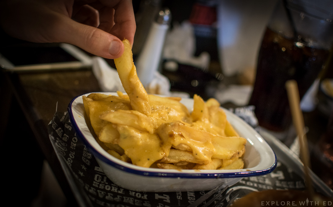 Cheese Fries at The Smoke Haus