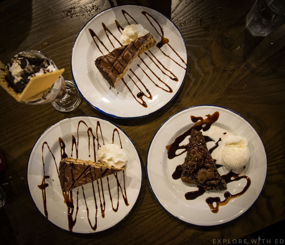 The Smoke Haus Birmingham Desserts