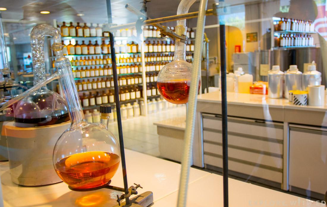 Perfume making in Grasse