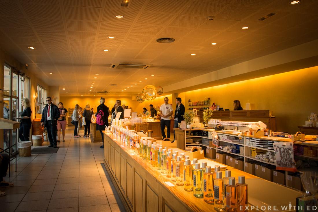 Fragonard Shop Interior in Grasse