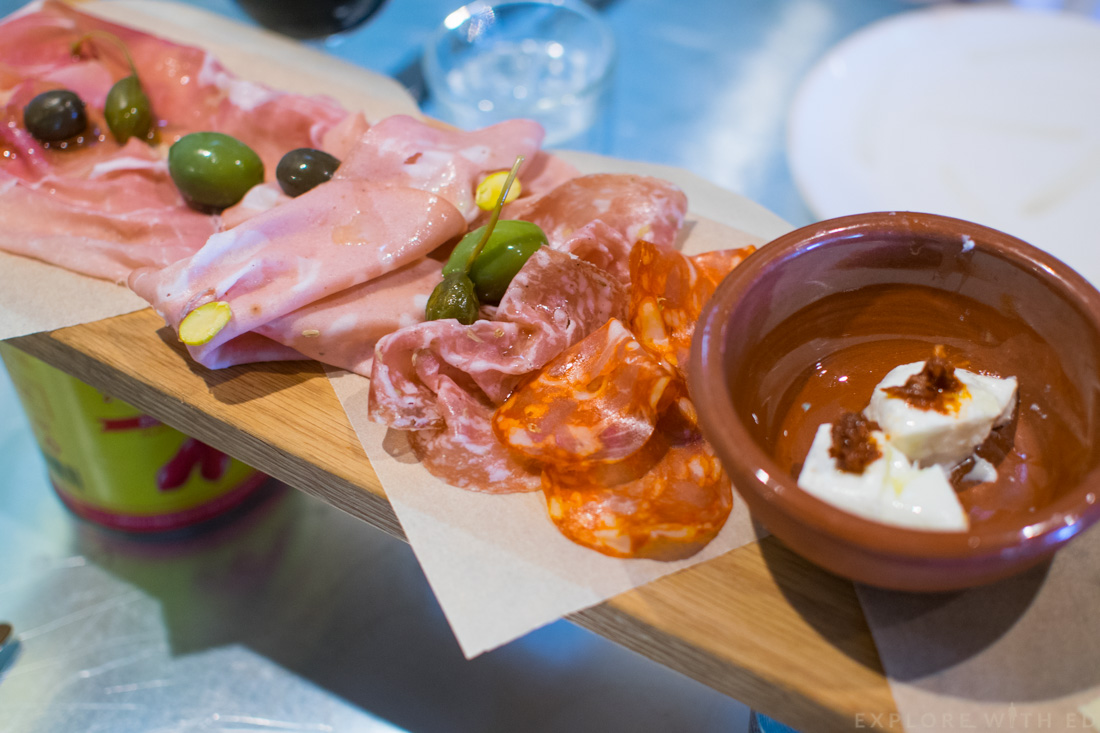 Cured Meat Plank Jamie's Italian, Harmony of the Seas