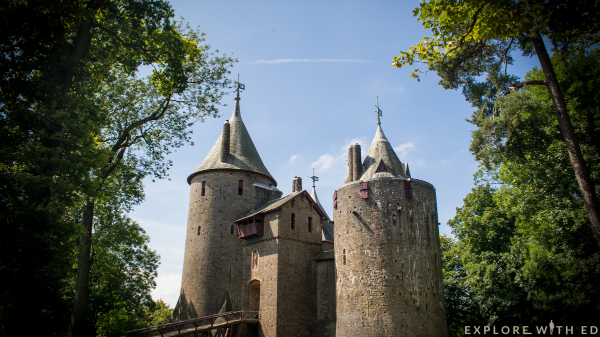 Castell Coch, Cardiff, Wales