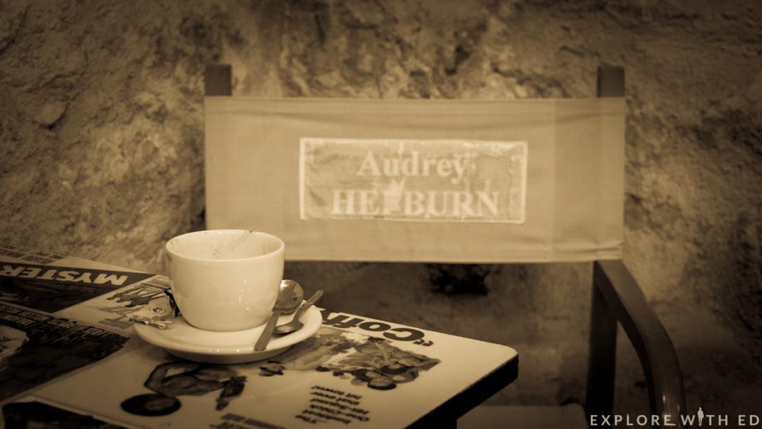 Hot chocolate, The Artiste Cafe, Saint Paul-de-Vence