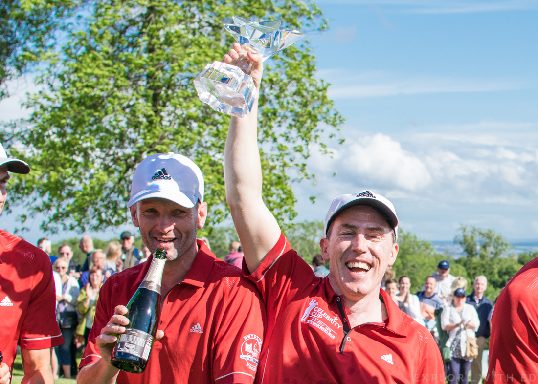 Team Wales victory at The Celebrity Cup 2015
