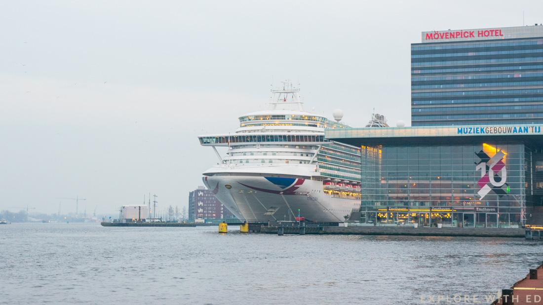 P&O Cruises Ventura, Amsterdam